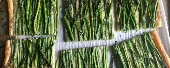 Asparagi, germogli depurativi: quiche ripiena